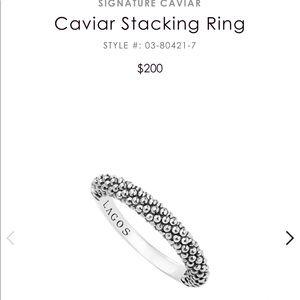 Lagos stacking ring